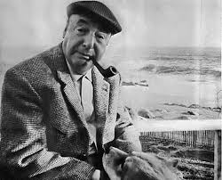 Pablo Neruda by the sea
